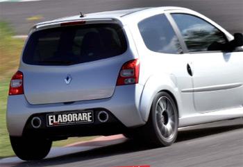 Elaborazione Renault Twingo 1.2 Turbo 270 CV