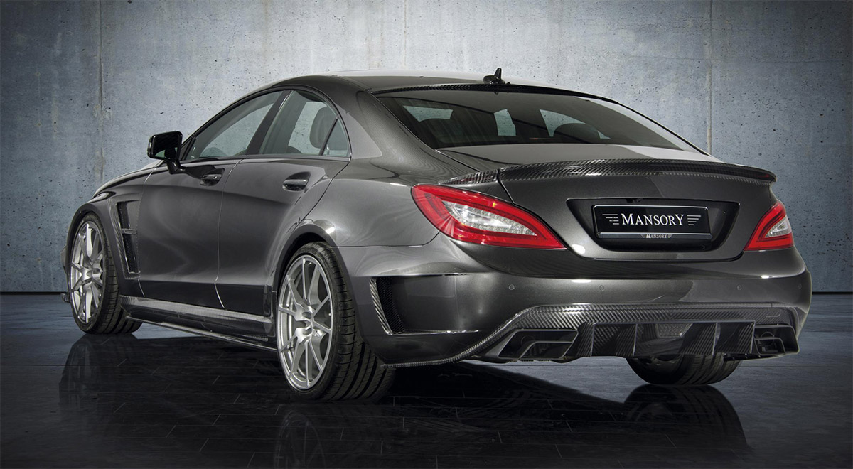 Mercedes GLS 63 AMG Mansory