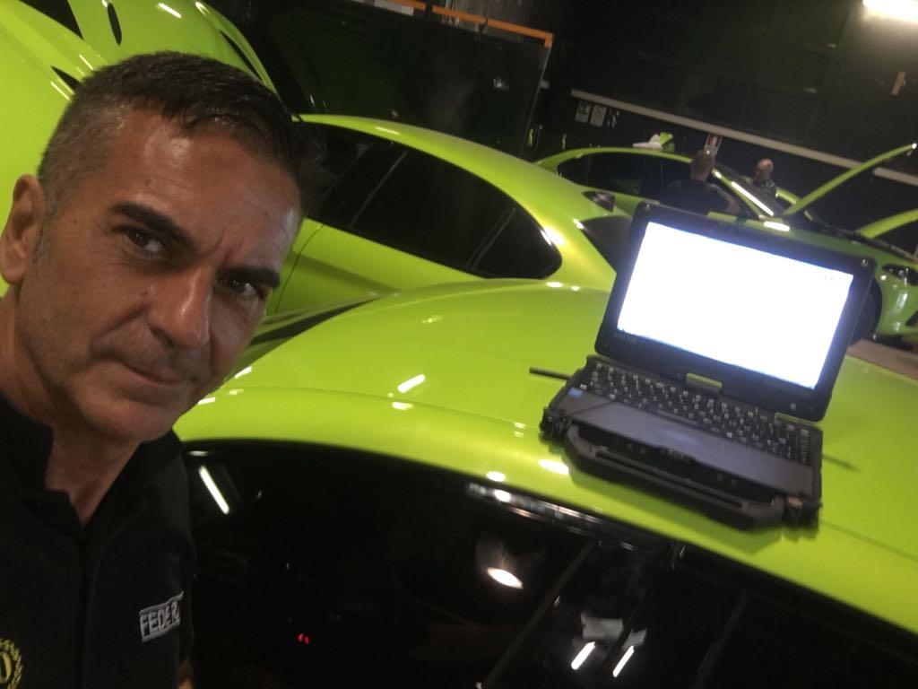 Fede Racing - Alfa Giulia Quadrifoglio per film Michael Bay